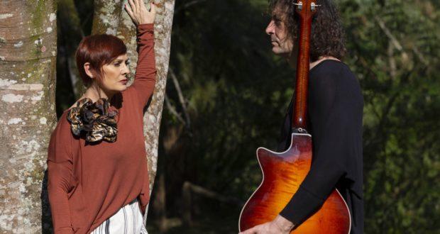 Mafalda con il chitarrista Paul Ricci
