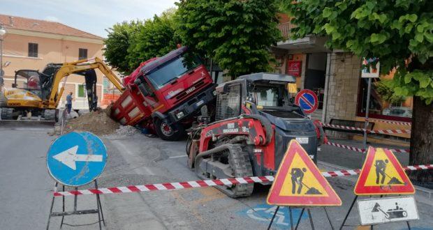 L'incidente di stamattina