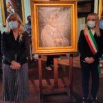 Sindaco e vicesindaco in Pinacoteca