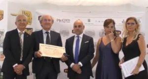 La premiazione del professor Massimo Ciambotti