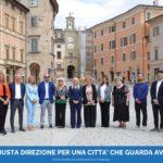 """Rosa Piermattei e i candidati della lista """"San Severino cambia"""""""