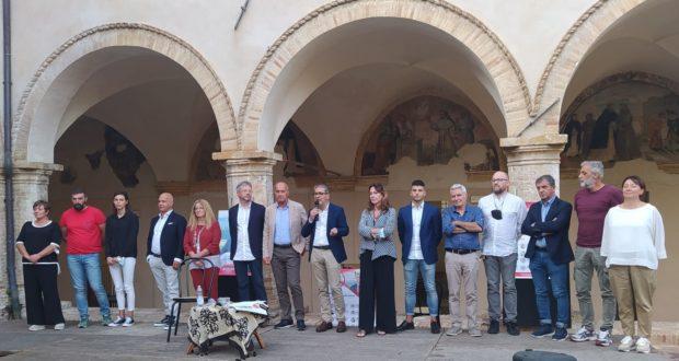 """Borioni e i candidati della lista """"San Severino Futura"""""""
