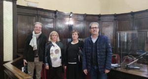 Da sinistra: Antognozzi, Gazzellini, Aronne e Borioni
